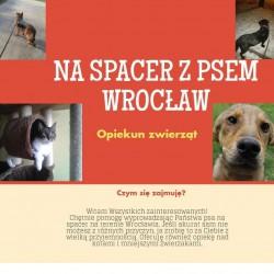 Opiekun zwierząt  Na spacer z psem  A. Wrocław