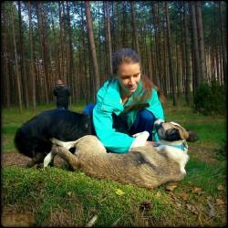 Opiekun zwierząt Joanna P. Warszawa